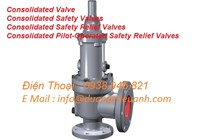 Consolidated Valve   / Consolidated Safety Valves  / Consolidated Safety Relief Valves / Consolidated Pilot-Operated  Consolidated Safety Relief Valves