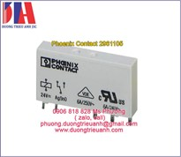 Phoenix Contact 2961105 | Relay PhoenixContact 2961105 250VAC, 6A 24VDC | Relay REL-MR-24DC/21-2961105